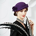 cheap Ceremony Decorations-Wool Hats with 1 Wedding / Party / Evening Headpiece