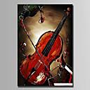 preiswerte Abstrakte Gemälde-Hang-Ölgemälde Handgemalte - Stillleben Abstrakt Segeltuch
