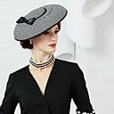 baratos Acessórios de Cabelo-Seda / Twill Weave Chapéus com 1 Casamento / Festa / Noite Capacete