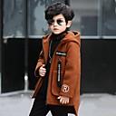 povoljno Jakne i kaputi za dječake-Djeca Dječaci Aktivan Dugih rukava Poliester Bluza Navy Plava 140