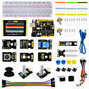 cheap Motherboards-Keyestudio Sensor Kit - K4 for Arduino Starter Kit Compatible Arduino UNO R3 Board ADL345JoystickRelayRGB LED19Projects