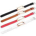 tanie Inteligentne zegarki-Watch Band na Mi Band 2 Xiaomi Pasek sportowy Skóra naturalna Opaska na nadgarstek