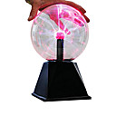 זול צעצועים ודגמי אסטרונומיה-תאורת לד כדור פלזמה צעצוע חינוכי עם חיישן קול גטדל גדול בגדי ריקוד ילדים בנים בנות צעצועים מתנות 1 pcs