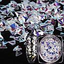 preiswerte Nagel-Funkeln-1pc / 1 Pailletten 12 Farben Nagel Kunst Maniküre Pediküre Art déco / Retro / Hell