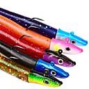 voordelige Heren bootschoenen-5 stk Visserij Gereedschap Metalen Aas Zacht Aas Vast Aas Muovi Metaal Algemeen Klassiek Zeevissen Slepend- & Bootvissen Vissen Met Aas