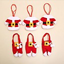 お買い得  クリスマスデコレーション-1個 Santa Stocking Holders, ホリデーデコレーション 13.0*10.0*2.0