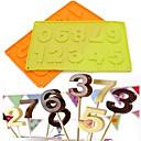 preiswerte Backformen-Backwerkzeuge Silikon Kreativ / Geburtstag / Heimwerken Plätzchen / Für Kuchen / Für Süßigkeit Kuchenformen 1pc