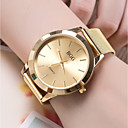 cheap Men's Rings-Women's Wrist Watch Quartz Casual Watch Cool Alloy Band Analog Fashion Gold / Rose Gold - Golden Rose Gold One Year Battery Life / SSUO 377