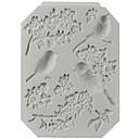 preiswerte Kuchenbackformen-Backwerkzeuge Silikon Gummi / Silica Gel nicht-haftend / Backen-Werkzeug / 3D Plätzchen / Chocolate / Für Kochutensilien Kuchenformen 1pc