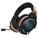 رخيصةأون فيدجيت سبنر-EH736 عقال سلكي Headphones ديناميكي بلاستيك الألعاب سماعة مع ميكريفون / مع التحكم في مستوى الصوت سماعة