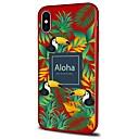 abordables Mochilas y Bolsas Deportivos-Funda Para Apple iPhone X / iPhone 8 Plus Diseños Funda Trasera Paisaje / Animal Suave TPU para iPhone X / iPhone 8 Plus / iPhone 8