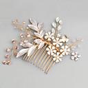 cheap Party Headpieces-Rhinestone / Alloy Hair Combs with Rhinestone / Crystal 1pc Wedding / Special Occasion Headpiece