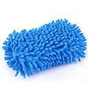 abordables Herramientas de Limpieza para Coche-esponja de lavado de autos de microfibra - esponjas de lavado de chenilla premium para automóviles