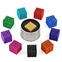 cheap Magnet Toys-216 pcs 3mm Magnet Toy Magnetic Balls Building Blocks Puzzle Cube Classical Stress and Anxiety Relief Focus Toy Office Desk Toys Boys' Girls' Toy Gift
