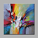 cheap Pillow Covers-Oil Painting Hand Painted - Abstract Modern Rolled Canvas