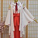 baratos Fantasias de Filme e Tema de TV-Inspirado por Maquiavelismo da Força Armada Tsukuyo Inaba Anime Fantasias de Cosplay Ternos de Cosplay Estampado Blusa Calças Decoração