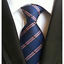 זול אביזרים לגברים-עניבת צווארון - משובץ עבודה / יום יומי בגדי ריקוד גברים