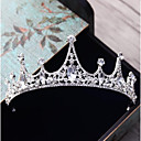 cheap Party Headpieces-Alloy Tiaras with Rhinestone / Crystal 1pc Wedding / Party / Evening Headpiece