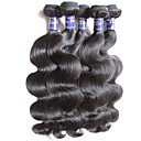 cheap Unprocessed Hair-Unprocessed Human Hair / Virgin Human Hair / Remy Human Hair Hair weave / Remy Weaves For Black Women Body Wave Peruvian Hair 0.5kg 1 Year / 12 Months Dailywear