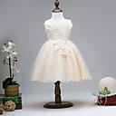 tanie Sukienki dla dziewczynek-Dzieci Dla dziewczynek Aktywny Wyjściowe Solidne kolory / Patchwork Bez rękawów Sukienka / Bawełna / Śłodkie