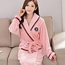 olcso Divat fülbevalók-V-alakú Ruhák Pizsamák Női - Egyszínű