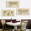 זול הדפסים-הדפסת בד מודרני, שלושה פנלים בַּד אנכי דפוס דקור קיר קישוט הבית