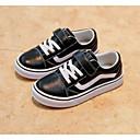 tanie Obuwie chłopięce-Dla chłopców Obuwie Skóra Wiosna / Jesień Wygoda Adidasy na Czarny