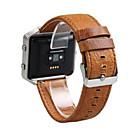 billige Smartklokke Tilbehør-Klokkerem til Fitbit Blaze Fitbit Moderne spenne Lær Håndleddsrem