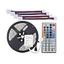preiswerte Spielzeuginstrumente-ZDM® 5m Lichtsets 300 LEDs 5050 SMD 5M Lichterkette / 1 44Tastenfernbedienung RGB Schneidbar 12 V