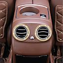 זול כיסויים להגה-רכב רכב מיזוג אויר פנים הרכב - עשו זאת בעצמכם עבור Mercedes-Benz 2017 E300L E200L E Class