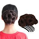 preiswerte Taglichter-Chignons / Haarknoten Haarknoten Updo Kordelzug Synthetische Haare Haarstück Haar-Verlängerung Strawberry Blonde / Medium Auburn / Schwarz / Dunkelbraun / Medium Auburn