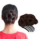 preiswerte Haarteil-Chignons / Haarknoten Haarknoten Updo Kordelzug Synthetische Haare Haarstück Haar-Verlängerung Strawberry Blonde / Medium Auburn / Schwarz / Dunkelbraun / Medium Auburn