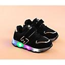 זול נעלי ילדות-בנות נעליים PU אביב / סתיו נוחות נעלי ספורט ל שחור / אפור / ורוד