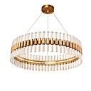 billige Lysekroner-QIHengZhaoMing Vedhæng Lys Baggrundsbelysning - Øjenbeskyttelse, 110-120V / 220-240V, Varm Hvid, LED lyskilde inkluderet / 15-20㎡