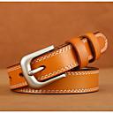 cheap Bracelets-Women's Work Leather Waist Belt - Solid Colored