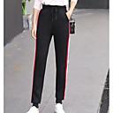tanie Lampy stołowe-Damskie Spodnie dresowe Spodnie - Kolorowy blok Biały