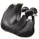 זול שזירה Remy  משיער אנושי-שיער בתולי ישר שיער ברזיאלי 300 g 12 חודשים יומי