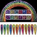 abordables Accesorios para Manicura-1 juego / 1pc Brillante arte de uñas Manicura pedicura Clásico Diario