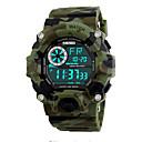 זול פאזלים3D-SKMEI שעון יד Chinese לוח שנה / עמיד במים / שעון עצר PU להקה יום יומי / אופנתי שחור / ירוק / זוהר בחושך
