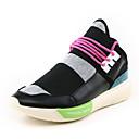 billige Sneakers til herrer-Herre Tekstil Vår / Høst Komfort Treningssko Svart / Rosa / Svart / Hvit