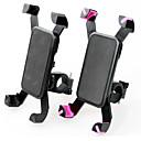 זול מחזיקים ומרכבים-אופנייים טלפון נייד בעל דוכן הר מעמד מתכוונן טלפון נייד סוג אבזם ABS מחזיק