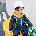 povoljno Jakne i kaputi za dječake-Dijete koje je tek prohodalo Dječaci Ležerne prilike Dnevno Jednobojni Dugih rukava Normalne dužine Pamuk Odijelo i sako Plava 100