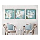 ieftine Acțibilde de Perete-Set Înrămat Floral/Botanic Ilustrație Wall Art, Polistiren Material cu Frame Pagina de decorare cadru Art Sufragerie