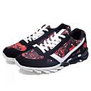 זול נעלי ספורט לגברים-בגדי ריקוד גברים PU אביב / סתיו נוחות נעלי אתלטיקה טיפוס שחור / כחול כהה / אדום