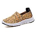 זול נעלי ספורט לנשים-בגדי ריקוד נשים נעליים טול אביב / סתיו נוחות נעלי אתלטיקה ריצה שטוח בוהן סגורה שחור / כתום / צהוב