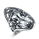 cheap Men's Rings-Men's Statement Ring - Stainless Steel Asian, Punk, Hip-Hop 8 / 9 / 10 / 12 Silver For Carnival Club