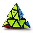 cheap Rubik's Cubes-Rubik's Cube QIYI A Pyramid Alien 3*3*3 Smooth Speed Cube Magic Cube Puzzle Cube Glossy Office Desk Toys Stress and Anxiety Relief