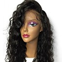 cheap Human Hair Wigs-Human Hair Glueless Full Lace / Full Lace Wig Brazilian Hair Wavy / Loose Wave Wig With Baby Hair 130% Natural Hairline / 100% Virgin / Unprocessed Women's Medium Length / Long Human Hair Lace Wig