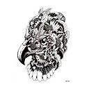 cheap Temporary Tattoos-1 pcs Tattoo Stickers Temporary Tattoos Animal Series Body Arts Arm / Shoulder