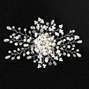 cheap Wedding Wraps-Imitation Pearl with Faux Pearl 1pc Wedding Headpiece